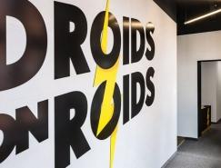 波兰Droids科技公司办公室设计