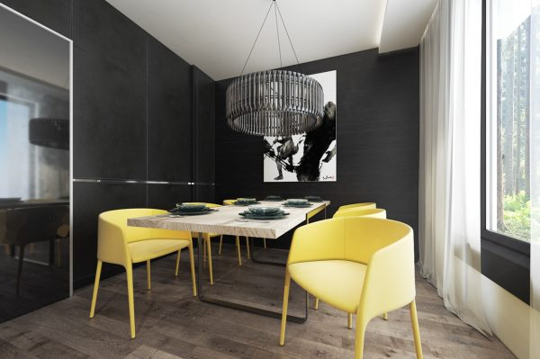 展现北欧简约美学的公寓设计