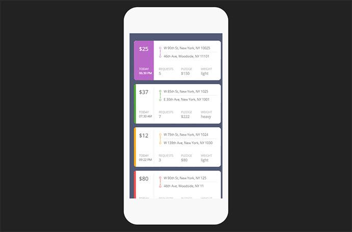 20个APP应用卡片式UI设计如何利用spss绘制频数表图片