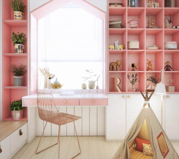 6个甜美温馨的女孩房设计