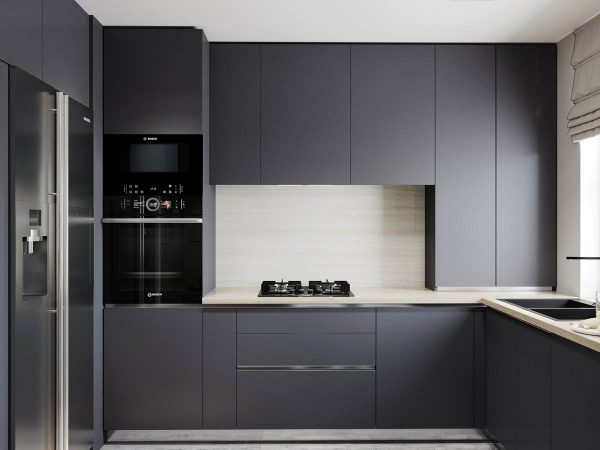 2个安逸的灰色调公寓设计