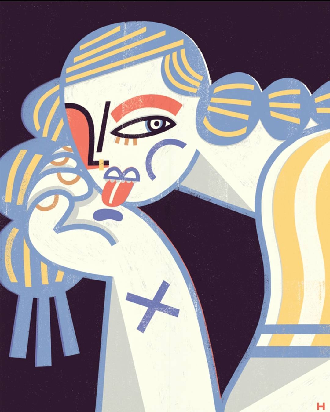 Gosia Herba抽象风格插画设计