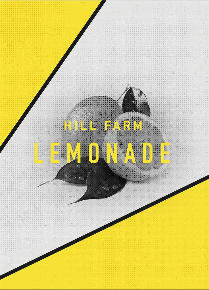 Hill Farm Lemonade果汁包装设计