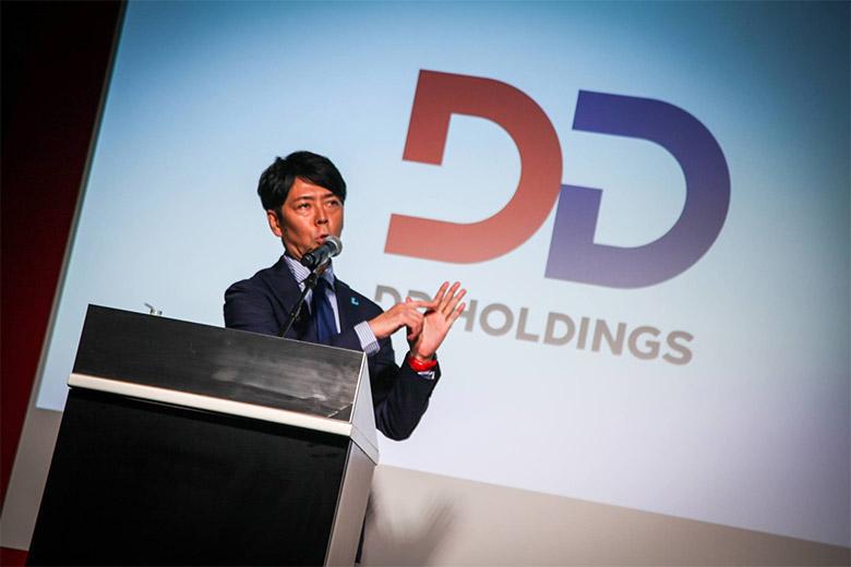 佐藤可士和操刀,日本DD控股集团启用新LOGO