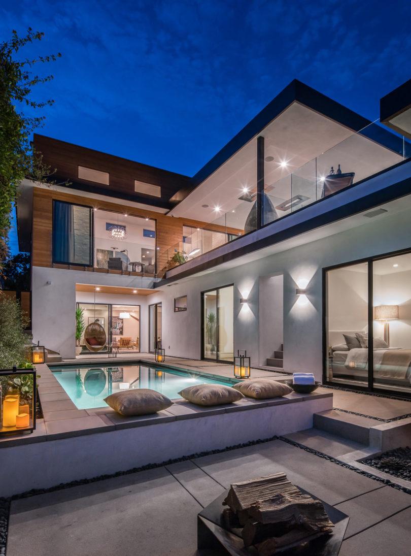 室内装修设计教程_加州Santa Monica Marine豪华别墅设计 - 设计之家
