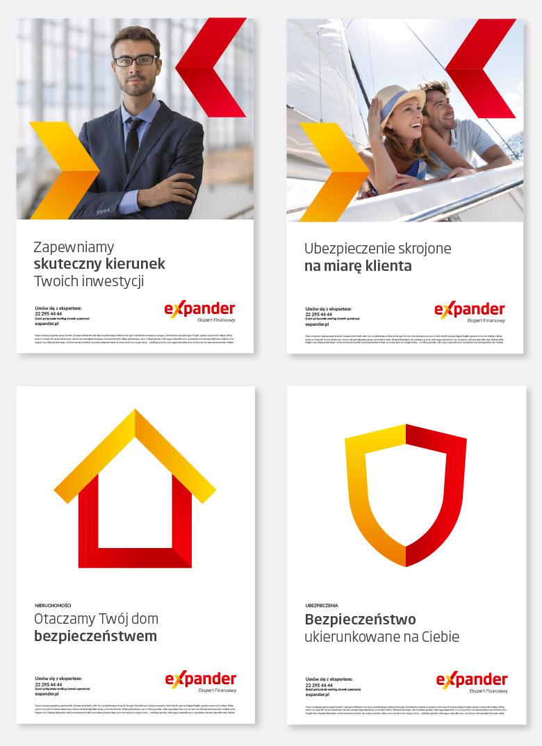波蘭最大財務顧問公司Expander啟用更為現代新LOGO