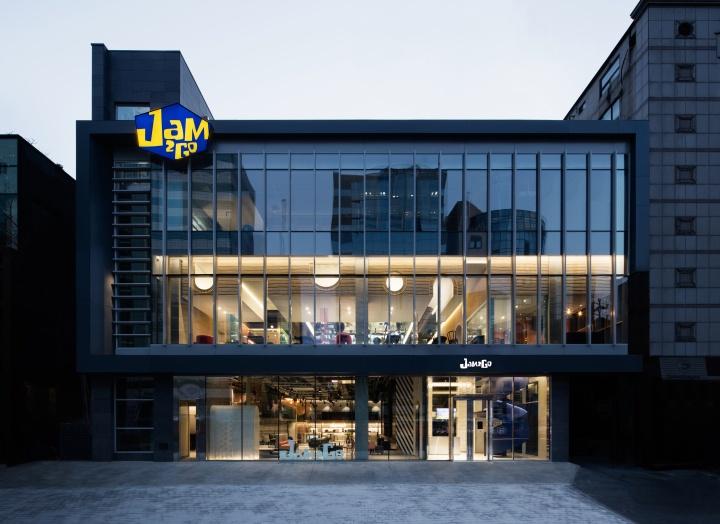 享受制作视频的乐趣: 首尔JAM2GO概念文化空间设计
