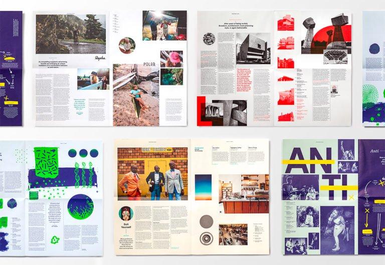 Mohawk刊物杂志版面设计