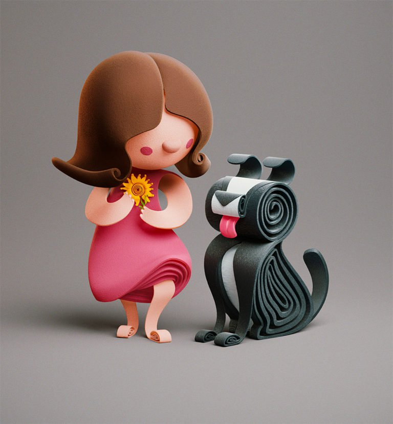 Yumekon角色设计和插画欣赏