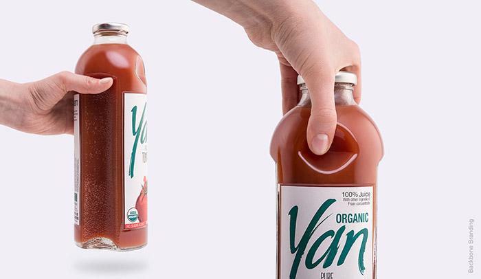 Yan果汁包装设计