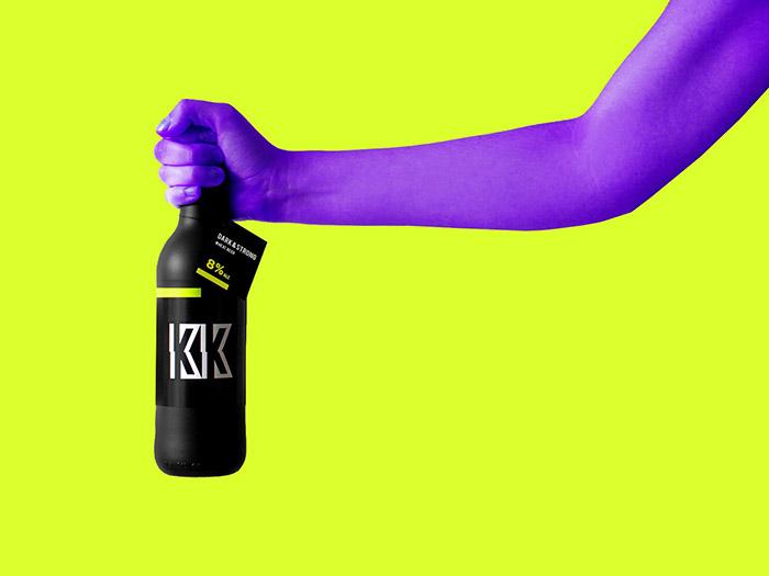 Knockout啤酒包装设计