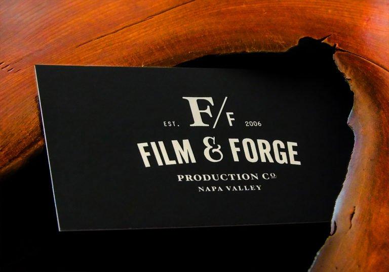 影视制作公司Film Forge品牌形象设计
