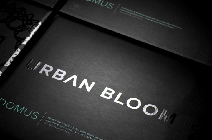 Urban Bloom枕头包装设计