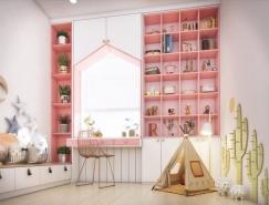 6個甜美溫馨的女孩房設計