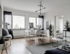 3個黑白色簡約風格家居裝修設計