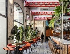 巴塞羅那EL MAMA複古藝術風格餐廳設計