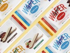 Signor威化饼干包装设计