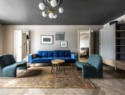 现代和古典风格之间的平衡:立陶宛精致公寓设计
