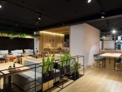 乌克兰Yaposhka日本料理餐厅室内设计
