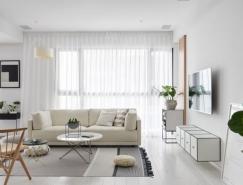 安静素雅的北欧风格家居装修设计
