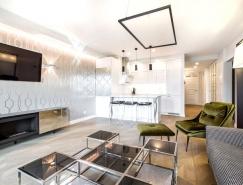 立陶宛Vilnius時尚新潮的現代公寓設計