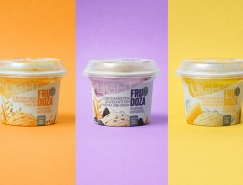 FRUDOZA冰淇淋包裝設計