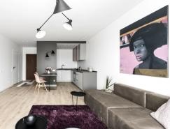 立陶宛极简风格的小公寓设计