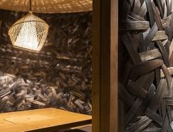 竹條編織的河內日本餐廳KIMONO