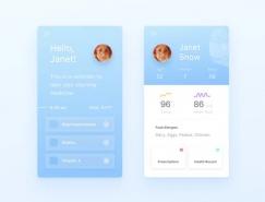 APP中用户信息面板UI设计欣赏