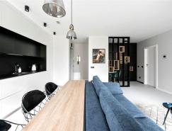 Caprice 48平米時尚單身小公寓設計