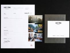 影视制作公司Film & Forge品牌形象设计