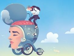 Björn Öberg想象力豐富的概念插畫作品