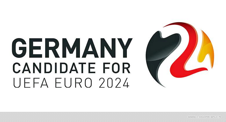 德国足协公布2024年欧洲杯申办LOGO