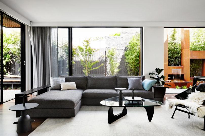 墨尔本当代简约风住宅设计
