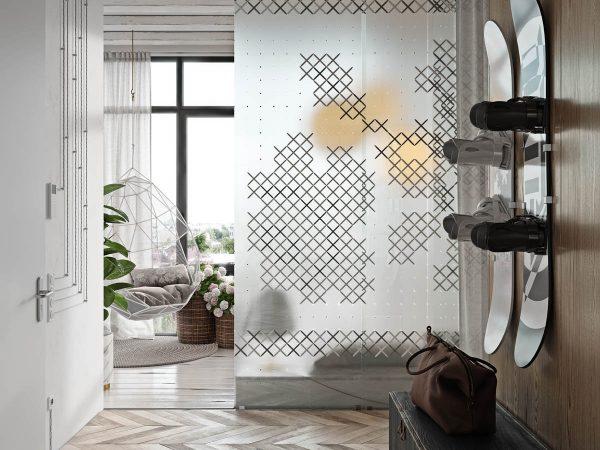 基辅乡村元素风格的时尚公寓装修设计