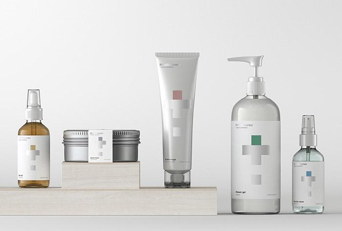 Healtheorem护肤品包装设计