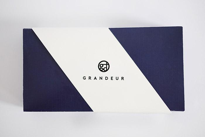 Grandeur松露巧克力包装设计
