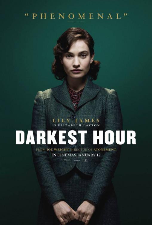 电影海报欣赏:至暗时刻 darkest hour