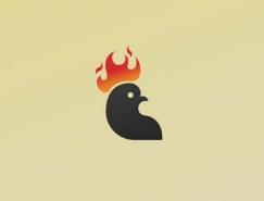 30款公鸡Logo设计欣赏