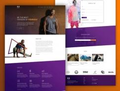 20个私人健身教练网页设计欣赏