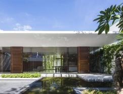 越南头顿绿意环绕的生态住宅设计