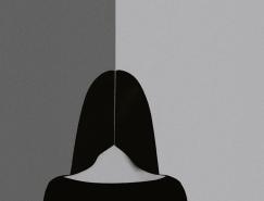 Noell Oszvald诗意唯美的黑白人物摄影作品