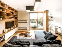 保加利亚Sofia时尚现代三层住宅设计