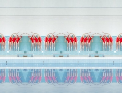 Maria Svarbova泳池系列摄影裆部作品¤