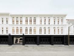 黑白极简主题的Hotel Mono酒店设计