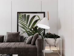 3個65平米北歐極簡風格小公寓裝修設計