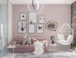 6个粉色系儿童房设计欣赏