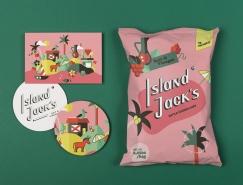Island Jack´s薯片包裝設計