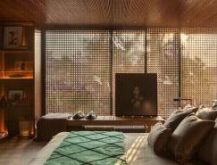 收藏家的角落:巴西圣保罗130平绿洲小宅