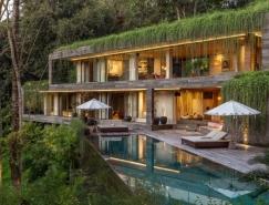 与自然拥抱:巴厘岛丛林豪华度假豪宅